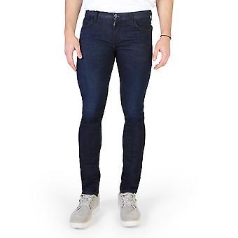 Armani Jeans Bărbați Original All Year Jeans Blue Color - 58269