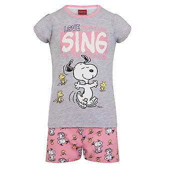 Maapähkinät Snoopy Virallinen Lahja Vauva Taapero Tytöt Lyhyt Pyjama