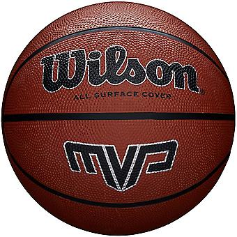 Wilson MVP Performance Basket Ball Brown