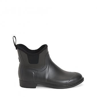 Muck Boots Derby Ladies Rubber Wellington Boots Black
