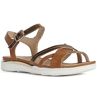 Geox D Sandale Hiver A Damen Sandalen
