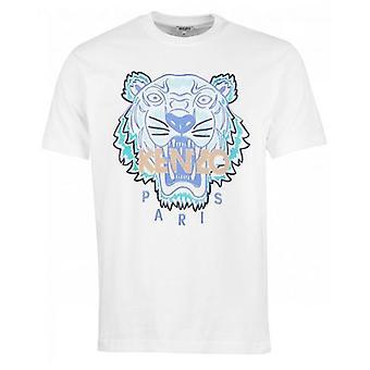 Kenzo Actua Summer Tiger T-Shirt