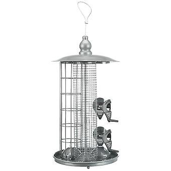 Trixie Vogelhäuschen 3 in 1 (Vögel , Futter und Wassernäpfe , Vogelhaus & Garten)