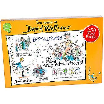 David Walliams Boy In A Dress 250 Piece Jigsaw Puzzle