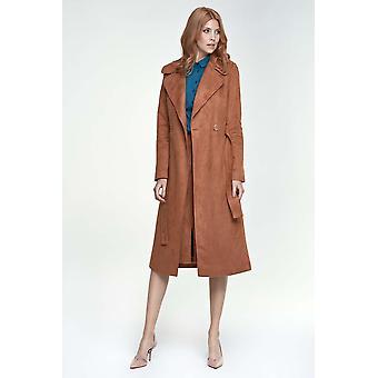 Vestes et manteaux bruns