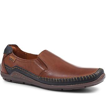 Pikolinos Mens Azores Couro Slip-On Loafer