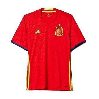 Män & apos; s kortärmad fotbollströja Adidas FEF Spanien / M