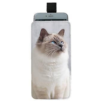 Bolso móvil Cat Holy Birma Pull-up
