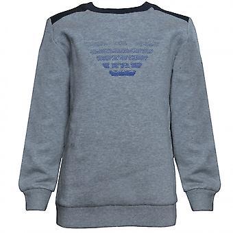 EA7 Boys EA7 Boy's Medium Grey Sweatshirt