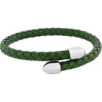 Duncan Walton Birch Plaited Bracelet - Green