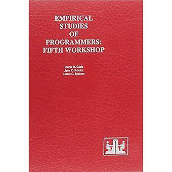 Empiriska studier av programmerare: femte Workshop på empiriska studier av programmerare (människa-dator interaktion-serien)