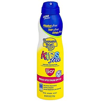 Banana boat kids continuous spray sunscreen, spf 50, 6 oz