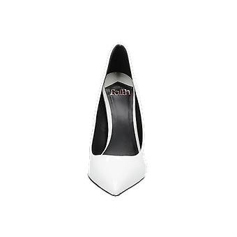 Faith CRAWFORD Women's Pumps White High Heels Stilettos Heel Shoes