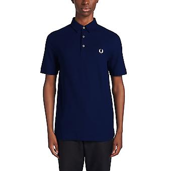 Fred Perry Men's Button Down Polo Shirt Regular Fit