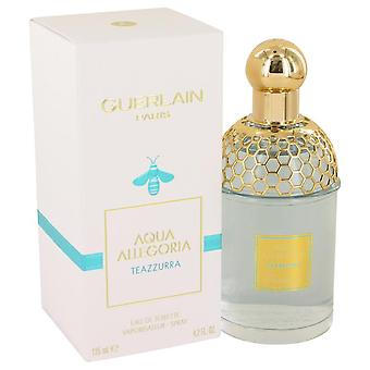 Aqua Allegoria Teazzurra Eau De Toilette Spray By Guerlain 4.2 oz Eau De Toilette Spray