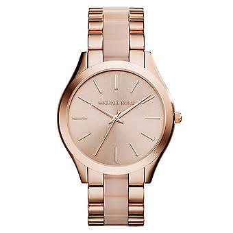 Michael Kors MK4294 Ladies Rullebane Watch - Rose Gold