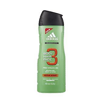 Adidas - A3 Active Start Men 3v1 Sprchový gel - 400ML