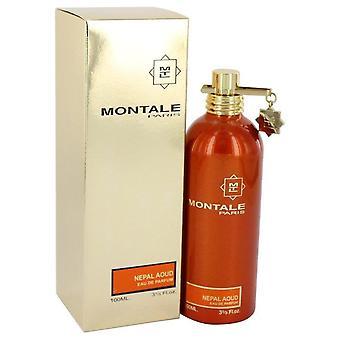 Montale Nepal Aoud Eau De Parfum Spray By Montale 3.4 oz Eau De Parfum Spray