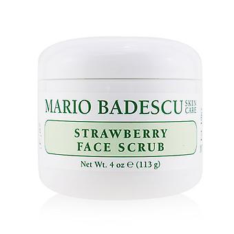 Mario Badescu Strawberry face Scrub-pentru toate tipurile de piele 118ml/4oz