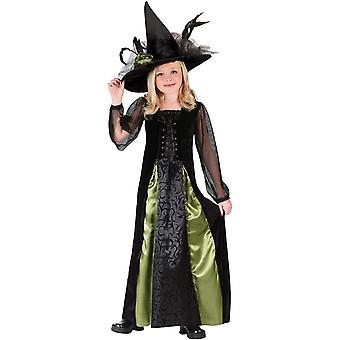 Elegant Witch Child Costume