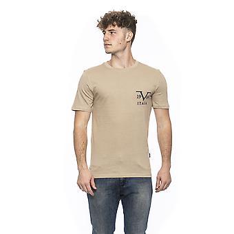 Beige Versace 19v69 miesten T-paita