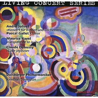 M. Ravel - Jolivet: Konzert F R Klavier; Ravel: Gaspard De La Nuit; Debussy: L'Isle Joyeuse [CD] USA import