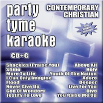 Party Tyme Karaoke - Party Tyme Karaoke: Vol. 1-Contemporary Christian [CD] USA import