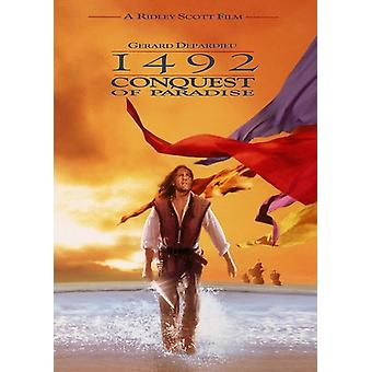 1492: conquest of Paradise (1992) importer des USA [DVD]