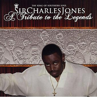 Sir Charles Jones - Tribute to the Legends [CD] USA import