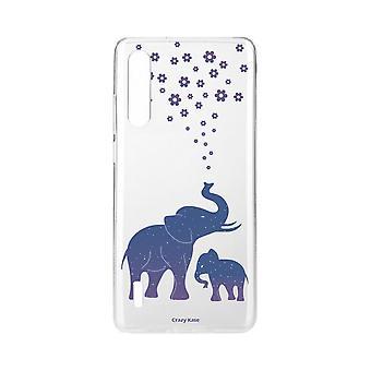 Hull For Xiaomi Mi 9 Lite Myk Blå Elefant