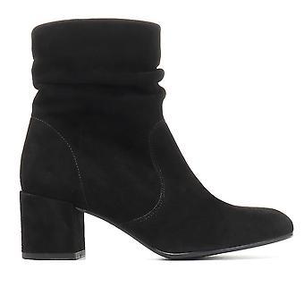 Jones Bootmaker Womens Berlin Suede Slouch Ankle Boot