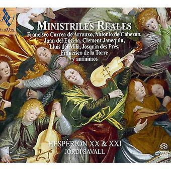 Jordi Savall - Ministriles Reales [SACD] USA import