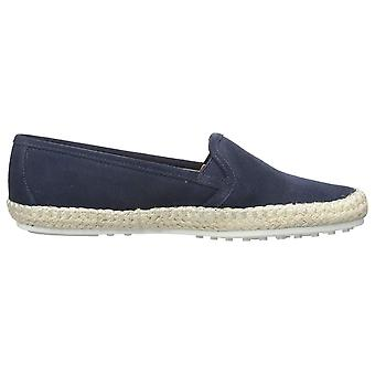 Aerosoles Womens Lets Drive läder rund tå Loafers