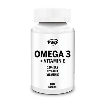 Omega 3 + Vitamin E 100 softgels
