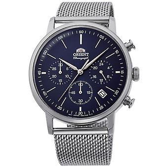 Orient Classic Watch RA-KV0401L10B - Stainless Steel Gents Quartz Chronograph