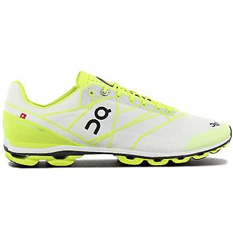 ON Running Cloudflash - Men's Running Shoes White-Yellow 16.8090 Sneakers Sports Shoes