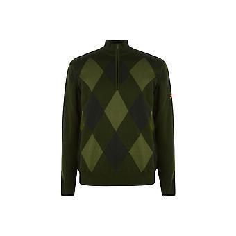 سلازينجر اصطف الرمز البريدي Sweatshirt الرجال