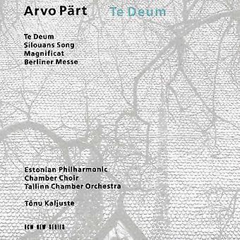 Kaljuste/Tallinn Chamber Orch. - Arvo P Rt: Te Deum; Silovans Song; Magnificat; Berliner Messe [CD] USA import