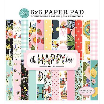 Carta Bella Oh Happy Day 6x6 Tommer Papir Pad