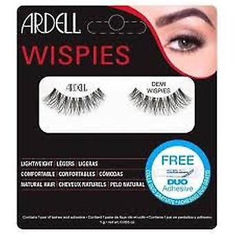 Ardell Demi Wispies Natural Human Hair Lashes - Negro