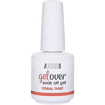 The Edge Nails Gelover 2019 Soak-Off Gel Polish Collection - Coral Thief 15ml (2003325)
