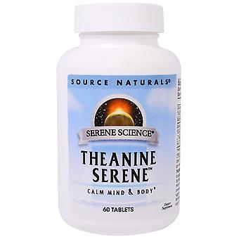 Source Naturals, Theanine Serene, 60 tablettes