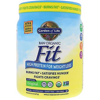 Garden of Life, RAW Organic Fit, High Protein for Weight Loss, Original, 15.1 oz