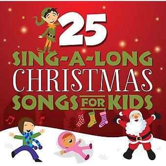 Songtime Kids - 25 Sing-a-Long Christmas Songs for Kids [CD] USA import