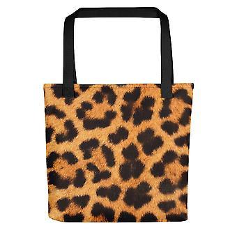 Malá taška na tote | Leopardí potisk