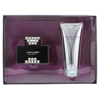 Judith Leiber Night Eau de Parfum 40ml & Body Lotion 100ml Gift Set For Her NEW