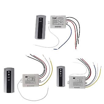 Wireless Channel, On-off Lamp -remote Control Switch Receiver