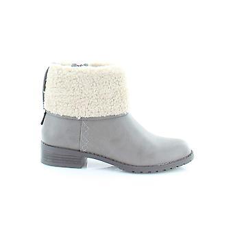 Style & Co. Damen Bettey Leder Mandel Toe Knöchel Mode Stiefel