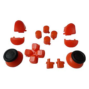 Full button set for ps4 pro controllers sony mod kit replacement set - orange | zedlabz