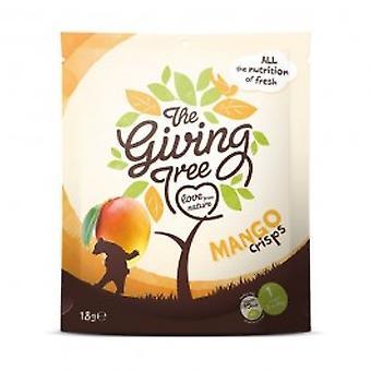 Giving Tree - Freeze Dried Mango Crisps 18g
